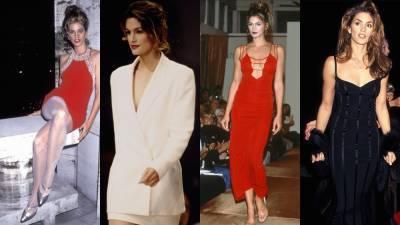 Составляем летний гардероб на примере образов Синди Кроуфорд в 1990-х